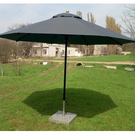 Зонт алюминиевый Барселона D 3,5м черный (графит) OUTDOOR