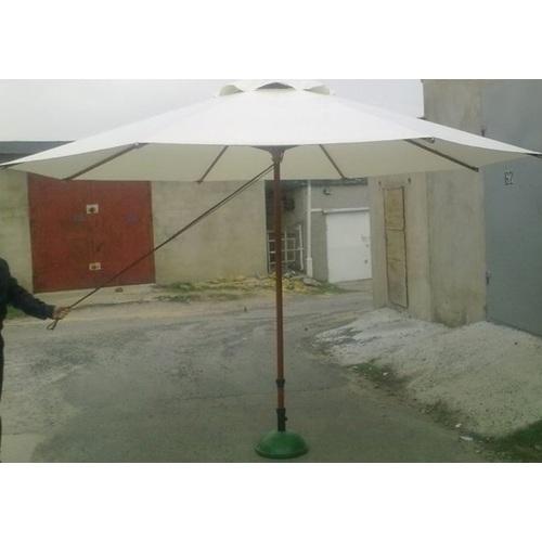 Зонт деревянный Соло D 4м кремовый OUTDOOR