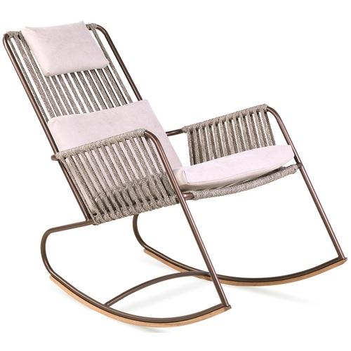 Кресло качалка Купер бежевое Pradex