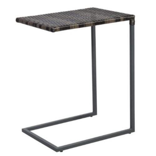 Стол приставной Wicker 11946 темно-коричневый Garden4You
