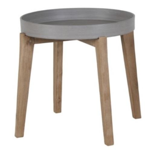 Стол кофейный Sandstone 72516 серый Garden4You