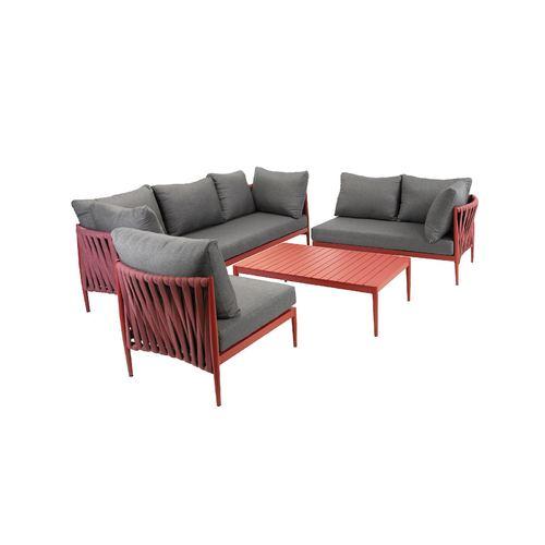 Комплект мебели Bremen 15408 красный Garden4You