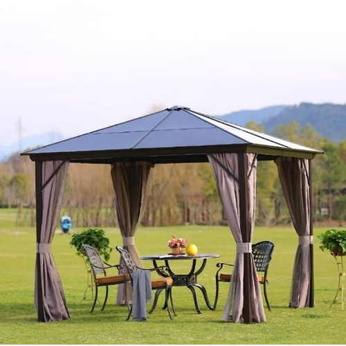Садовый павильон Sunset 19546 серый Garden4You