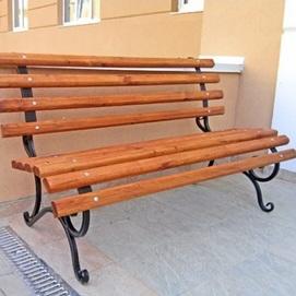 Скамейка Retro 510002 бежевый Garden4You
