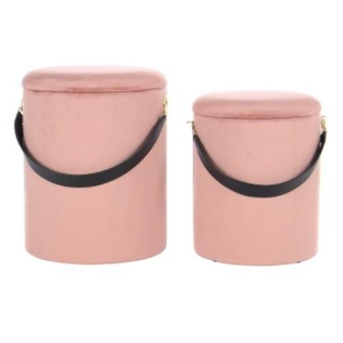 Набор из двух пуфов Arabella NNIVX розовый Kayoom