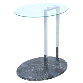 Стол приставной Julius 1410-04 прозрачный Kayoom