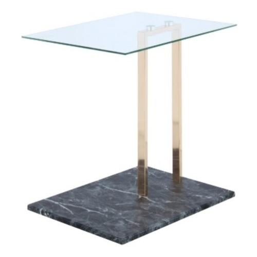 Стол приставной Julius 2334-04 прозрачный Kayoom