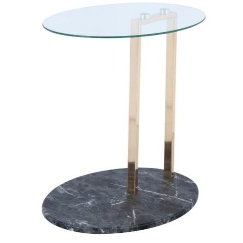 Стол приставной Julius 2336-04 прозрачный Kayoom