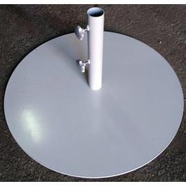 Подставка для зонта металлическая ТН-24 серая OUTDOOR