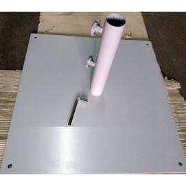 Подставка для зонта металлическая ТН-29 серая OUTDOOR