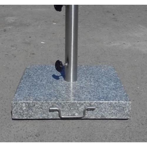 Подставка для зонта гранитная ТН-35 серая OUTDOOR