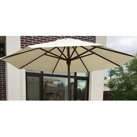 Купол для зонта Де Люкс круглый без воланов кремовый D=3 м OUTDOOR