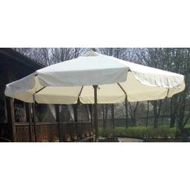 Купол для зонта Де Люкс круглый с воланами кремовый D=3 м OUTDOOR