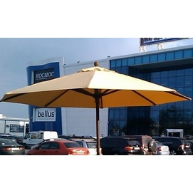 Купол для зонта Де Люкс круглый без воланов желтый D=3 м OUTDOOR