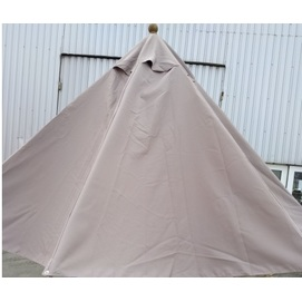 Купол для зонта Соло круглый без воланов бежевый D=4 м OUTDOOR
