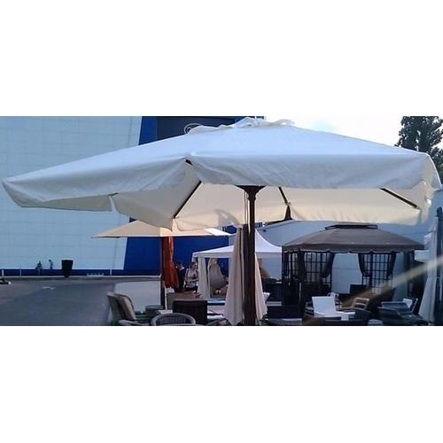 Купол для зонта Милан квадратный 3 х 3 м с воланами кремовый OUTDOOR
