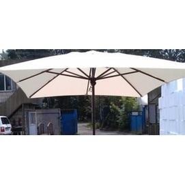 Купол для зонта Прага прямоугольный 3 х 4 м  без воланов кремовый OUTDOOR