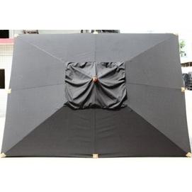 Купол для зонта Прага прямоугольный 3 х 4 м  без воланов шоколад OUTDOOR