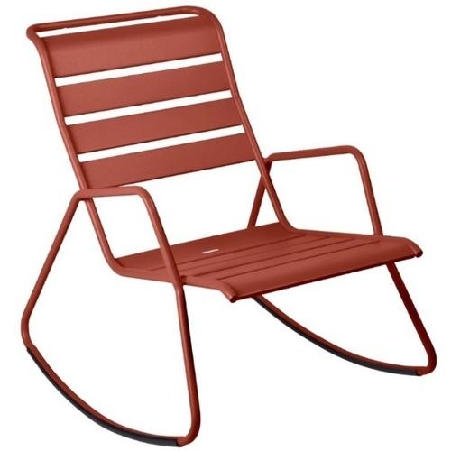 Кресло качалка Monceau 480620 красный Fermob