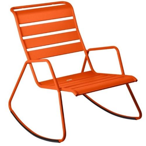 Кресло качалка Monceau 480627 оранжевый Fermob