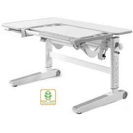 Детский стол (парта) Kingwood D-820 TG/G береза/серый Mealux