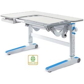 Детский стол (парта) Kingwood D-820 TG/BL береза/голубой Mealux