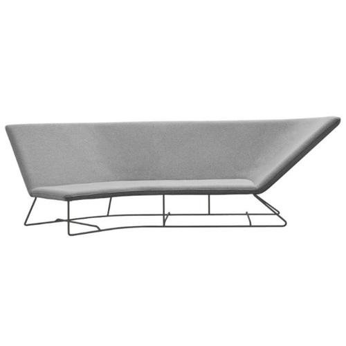 Диван угловой Ultrasofa 62414736 серый Fermob