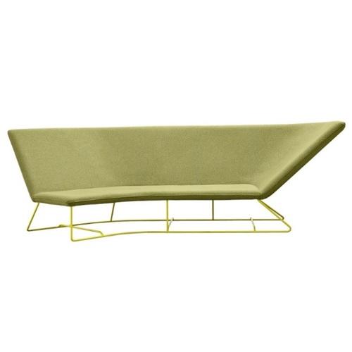 Диван угловой Ultrasofa 62412977 зеленый Fermob
