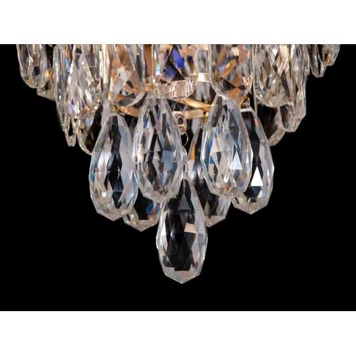 Лампа потолочная 8002 золото Diasha