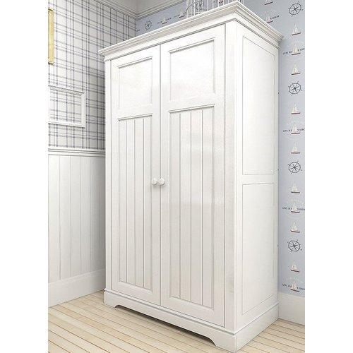 Шкаф двустворчатый D14 Канон белый
