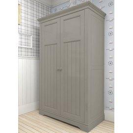 Шкаф двустворчатый D14 Канон серый