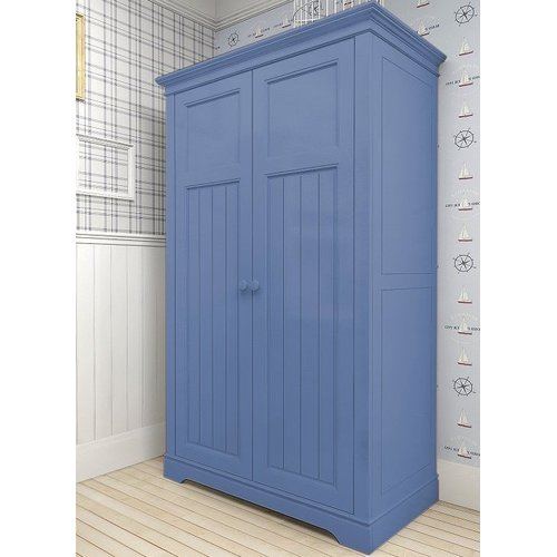 Шкаф двустворчатый D14 Канон синий