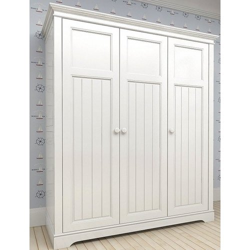 Шкаф 3-х створчатый D18 Канон белый