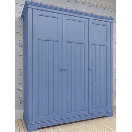 Шкаф 3-х створчатый D18 Канон синий