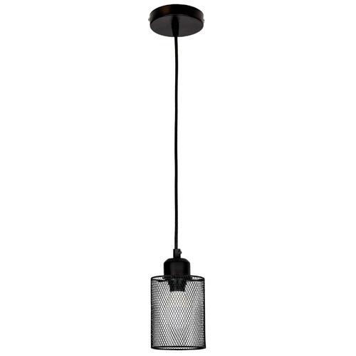 Лампа подвесная 907015F-1 BK черный Thexata 2020