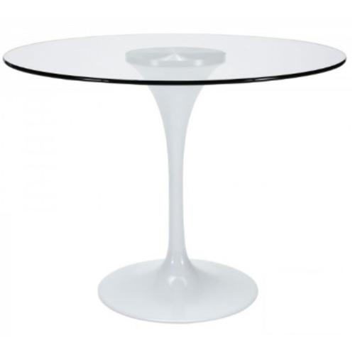 Стол обеденный Тюльпан G 80 см прозрачный Mebelmodern 2020