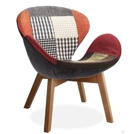 Кресло Сван Вуд Армз разноцветное Mebelmodern 2020