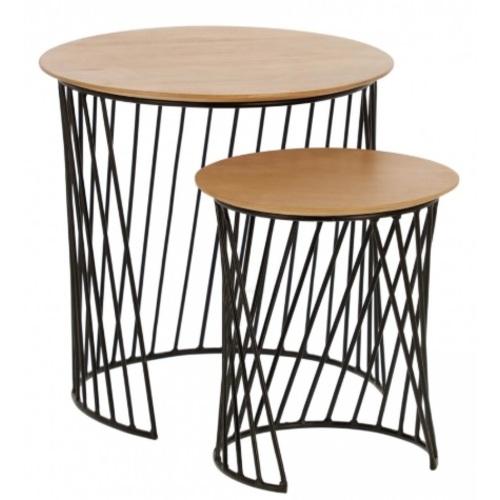 Набор столиков Leska CC1892M46 бежевый Laforma 2020