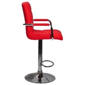 Кресло барное AUGUSTO - ARM BAR CH - BASE 10382 красный Thexata Summer