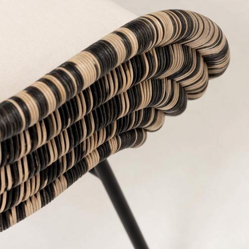 Кресло Lin CC5099FN19 коричневый Laforma 2020