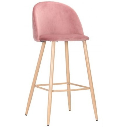 Стул барный Bellini 545884 розовый Famm 2020