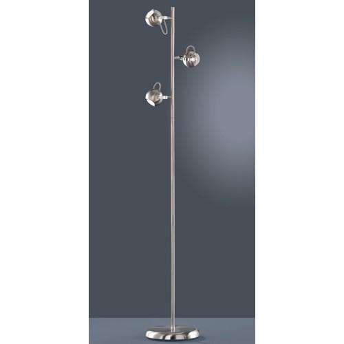 Лампа напольная BASTIA R40053007 серебро Trio