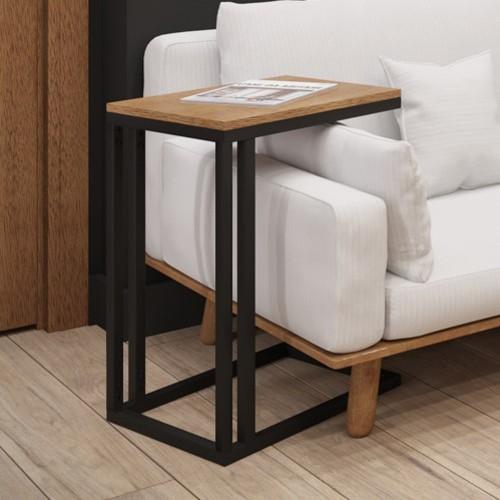 Стол приставной Брейк 55см черный Металл Дизайн
