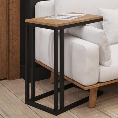 Стол приставной Брейк 60см черный Металл Дизайн