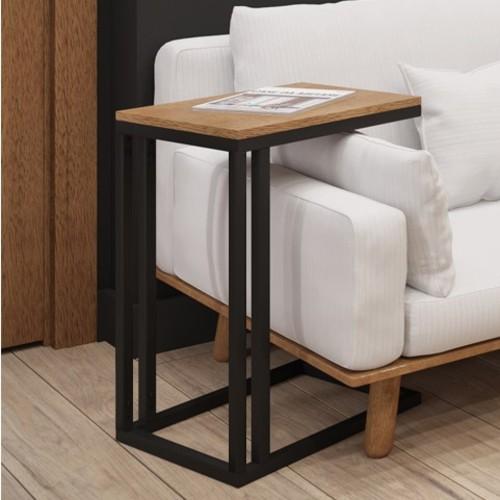 Стол приставной Брейк 65см черный Металл Дизайн