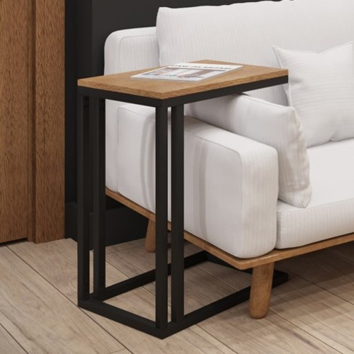Стол приставной Брейк 60 см черный Металл Дизайн