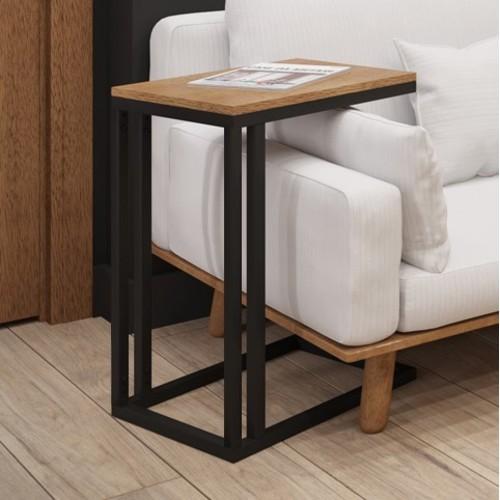 Стол приставной Брейк 40см черный Металл Дизайн