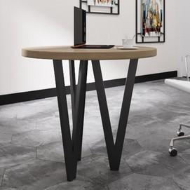 Стол обеденный Ви-3 коричневый Металл Дизайн