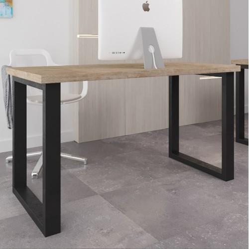 Стол письменный Спот Оверхед 120 см коричневый Металл Дизайн