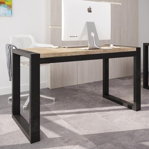 Стол письменный Спот 176см коричневый Металл Дизайн